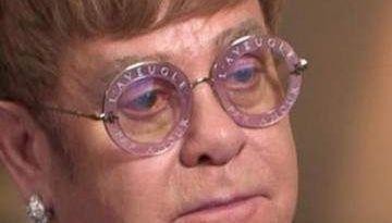 El llanto desconsolado de Elton John