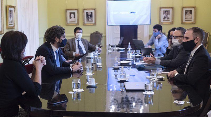 El gabinete económico se reúne para avanzar en programa de reactivación productiva