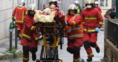 Alarma en París por un ataque con cuchillo cerca de la ex sede de la revista Charlie Hebdo
