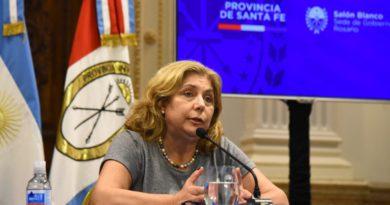 Internaron a la ministra de Salud, Sonia Martorano