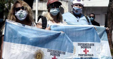 Trabajadores de enfermería harán una protesta con acampe frente a la sede del Gobierno porteño.