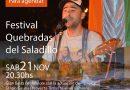 10° edición del Festival de las Quebradas del Saladillo.