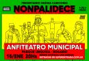 """Presentando nuevas canciones en el Anfiteatro """"Monpalidece""""."""
