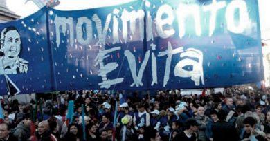 El Movimiento Evita celebrará los 102 años del nacimiento de Eva Perón.