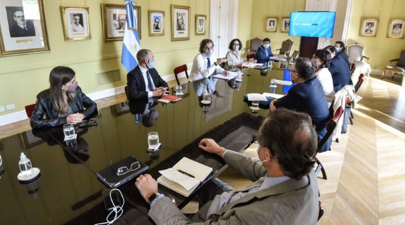 Nueva reunión de gabinete económico en la Casa Rosada.