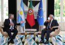 Alberto Fernández, reunido con el primer ministro de Portugal en Lisboa.