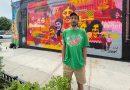 Cabaio, el artista argentino convocado para pintar las calles de Nueva York.