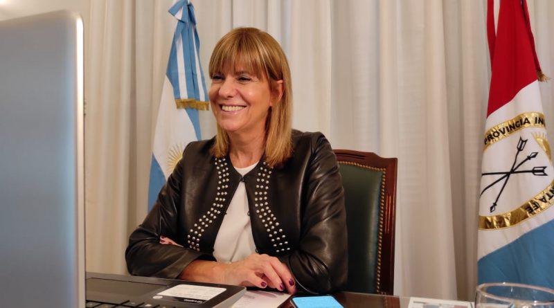 La vicegobernadora Rodenas será precandidata a senadora.