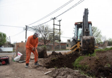 La Municipalidad realiza un operativo en el barrio Toba de zona oeste